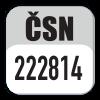 Standard CSN 222814