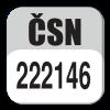 Standard CSN 222146