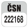 Standard CSN 222168