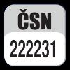 Standard CSN 222231